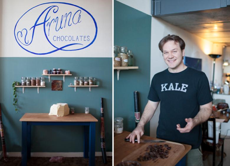 Aruna, Dark Chocolate Made with 100% LOVE
