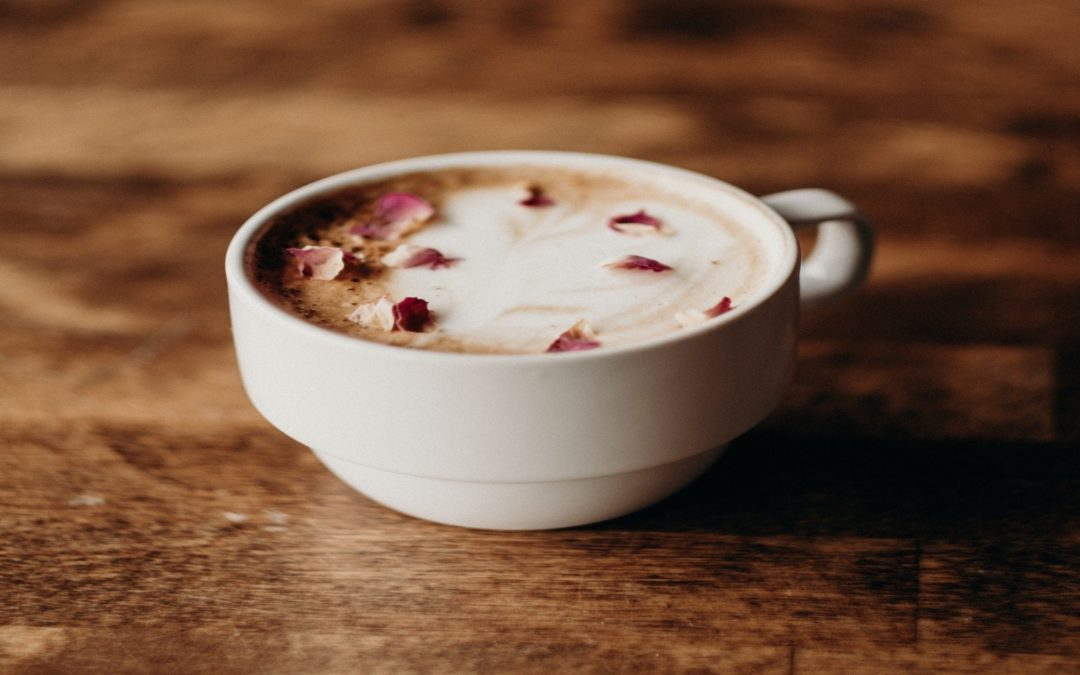 Rose Latte, Beauty In A Cup